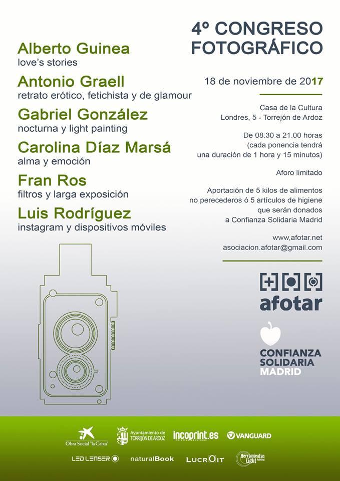 Congreso Fotográfico Solidario AFOTAR